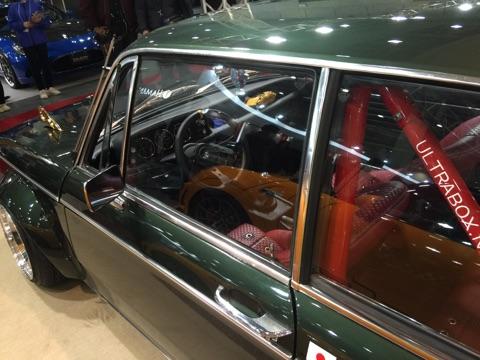 BMW2002カスタムの内装