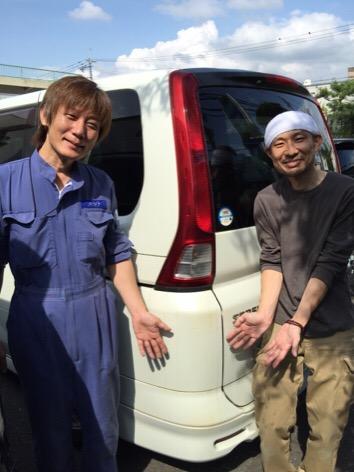 新谷社長と富ヤン