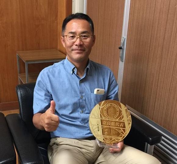 奈良一条高校サッカー部監督前田先生とチャンピオンボール
