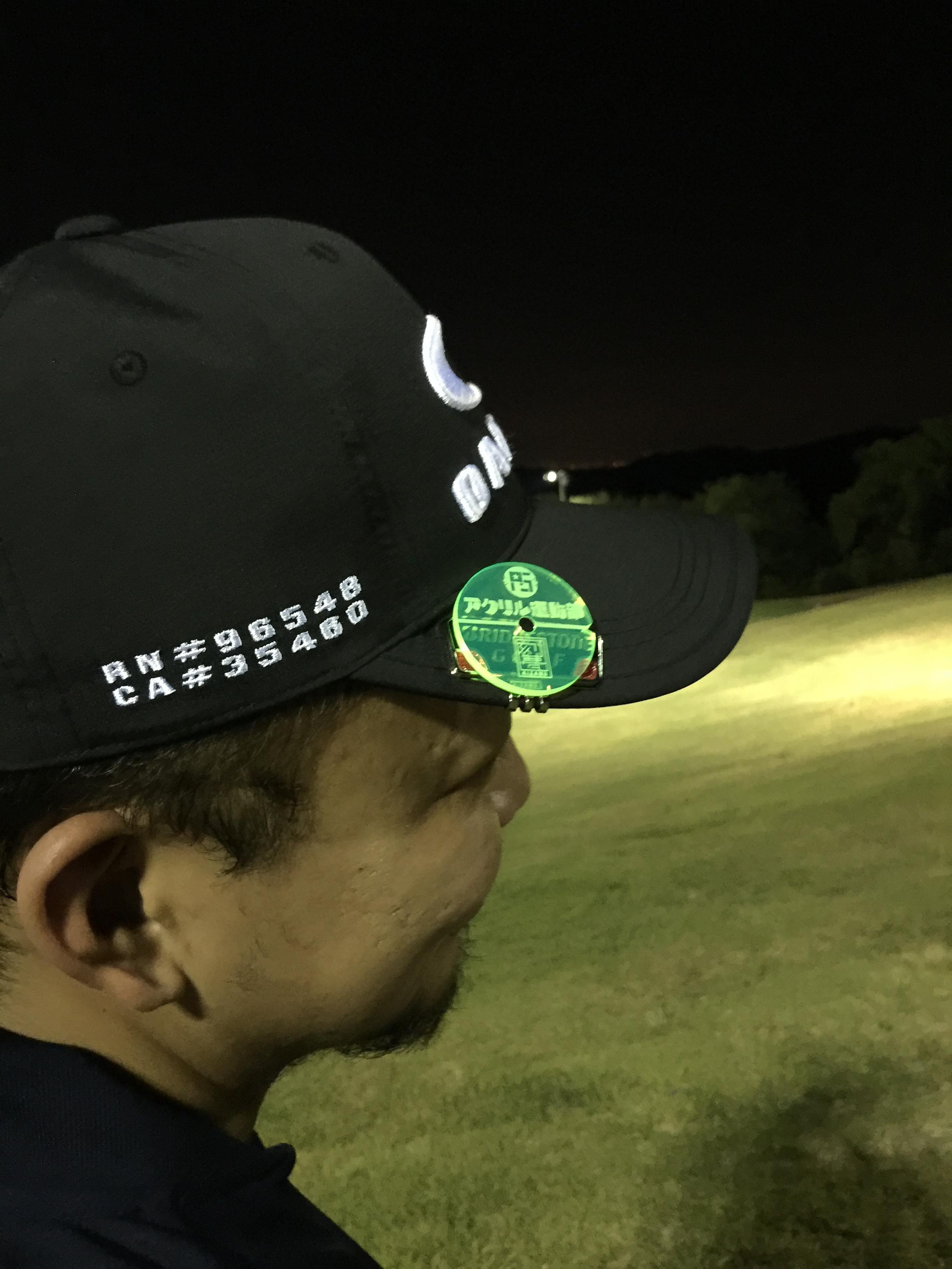 ナイターゴルフでも!!
