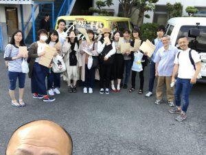 大阪芸大のアクリルの授業2017!・・・今年はやりまっせ!!