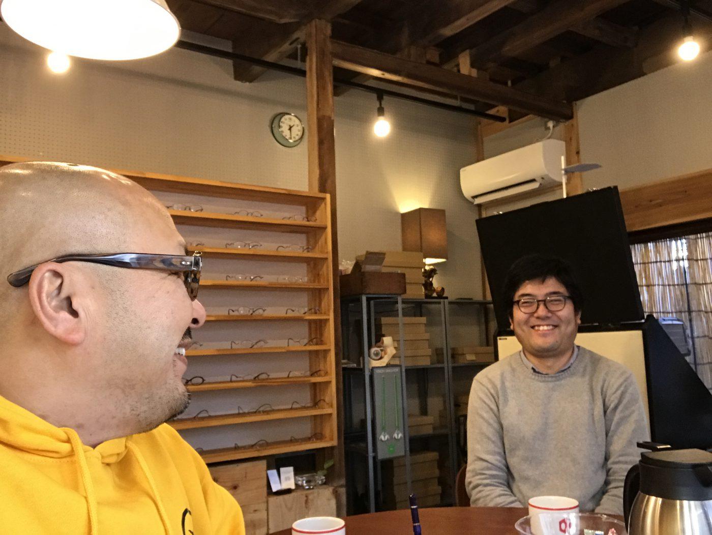 「月刊アクリル運動部第4号」ゲスト:眼鏡士 Japan Optometric Association神田泰志(後編)